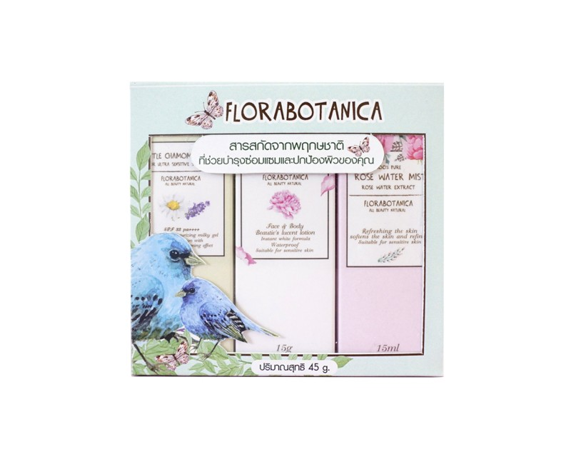 Florabotanica Travel set